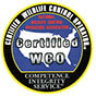 WCO certified badge